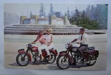 VINTAGE TRIUMPH MOTORCYCLE FACTORY POSTCARD BROCHURE SPEED TWIN TIGER CUB NOS