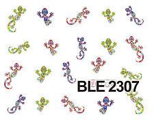 GAUDI LIZARD Water Transfers Nail Art Sticker Decals UV Acrylic Decoration