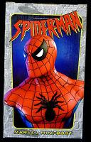 Spider-man Red Bust Statue Marvel Comics Spiderman 2001 Bowen Amricons