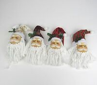 Christmas Santa Claus Face Head Ornament Tree Decoration Hanging Ornaments