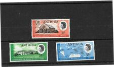 SET OF 3 ANTIGUA  1967 POSTAGE STAMPS SG 203-5 - UNMOUNTED MINT