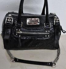 Dolce & Gabbana Black Patent Leather Miss Easy Way Satchel HandBag Shoulder Bag