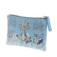 Beatrix Potter Peter Rabbit Purse - Vintage Style Peter Rabbit Blue Coin Purse