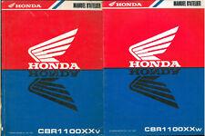 Revue d'Atelier HONDA CBR 1100 XX SC35 Super BLACKBIRD 1997- 98 Manuel Technique