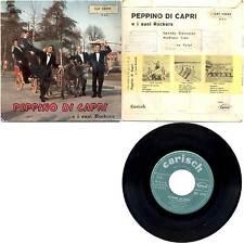 """PEPPINO DI CAPRI - SPEEDY GONZALES+3 7"""" EP CAT 23026 CARISH PORTOGALLO"""