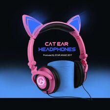 Overwatch OW DVA Cute D.VA Headphone Headset Earphone Game Cosplay Prop Anime