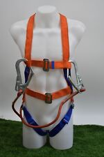 Fall Protection 5 Points Adjustable Full Body Safety Harness With Double Hooks