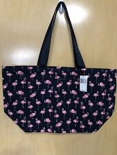 Vera Bradley Large Family Tote/Travel Bag- Flamingo Fiesta - NWT - Fee Shipping