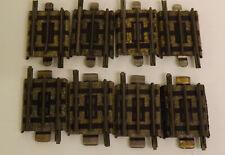 Hornby Dublo 3 rail - 1/8 Track - 8 Pieces - Lot 2