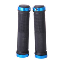Cycling Lock-on Anti-slip Bicycle Bike Handlebar Handle Grips For MTB BMX