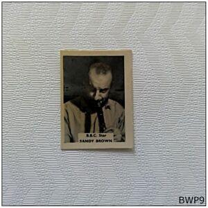 B.B.C. Star Sandy Brown Small Old Photograph (BWP9)
