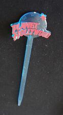 VINTAGE PLANET HOLLYWOOD SWIZZLE STICK DRINK STIRRER 1980's