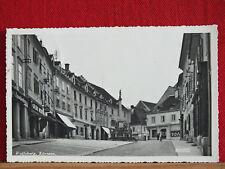 Fotokarte - Wolfsberg / Kärnten - links Gasthaus / Weinstube - gel ca 1939    m