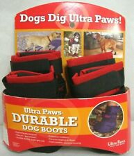 Ultra Paws Durable Dog Boots Red Size SMALL Washable Reusable NEW