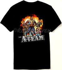The A Team T Shirt - 80's Classic Comic Book Art - New