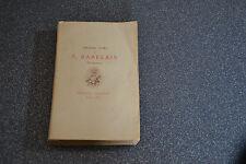 Premier Livre de Rabelais Gargantua Edition Jouaust 1876 (H2)