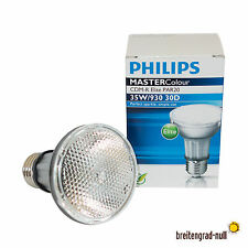 Philips Master Colour CDM-R 35 Watt PAR 20 30D 930 Elite WDL HCI HQI Flood 30°