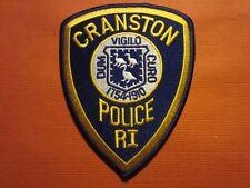 CRANSTON RI RHODE ISLAND POLICE DEPT CPD PD VIGILO 1754 LOCAL STATE FIRE