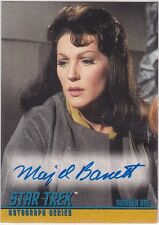 STAR TREK THE ORIGINAL SERIES SEASON 1 A25 MAJEL BARRETT NUMBER ONE AUTOGRAPH