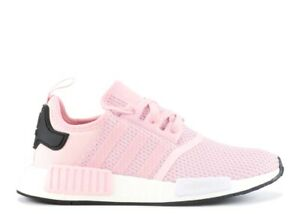 Women Adidas Originals NMD_R1 Boost Shoes Clear Pink (B37648) Size 6.5,7,9 New