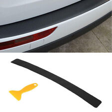 Car SUV Rear Bumper Sill Protector Cover Sticker Carbon Fiber Look Anti Scratch