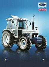 Vintage Ford 7810 Silver Jubilee Tractor Poster Brochure Leaflet Print (A3)