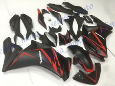 Injection Fairing Set Cowl Kit Fit For HONDA CBR250R 2011-2015 2012 Black Red