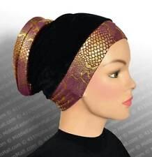 Venetian Volumizer #2 Purple turban hijab Ready to wear turban hijab outfits