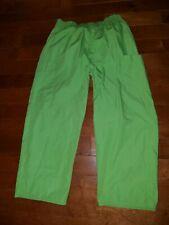 DICKIES GREEN WOMEN'S ELASTIC SCRUB PANTS Size Large