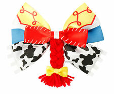 NEW Disney Toy Story Jessie Braid Bow Tie Hair Clip Pin Cosplay Costume Dress Up