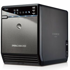 Mediasonic ProBox 4 Bay 3.5 Inch SATA HDD Enclosure - USB 3.0 & eSATA HF2-SU3S2