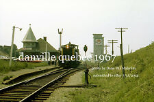 Canadian National Railway 1905 Danville Quebec July 2 1967 a