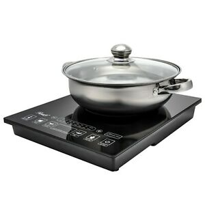 Rosewill Portable Induction Cooker Electric Hot Plate Includes 3.5Qt Pot