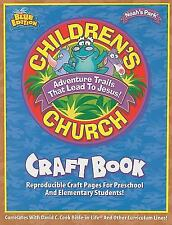 Noah's Park Childern's Church Craft Book, Blue Edition by David C. Cook