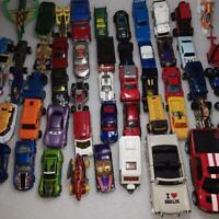 Over 50 Hot Wheels Mattel Matchbox Diecast Cars Trucks Motorcycles Vehicles Lot