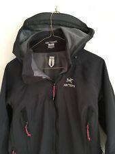 Arcteryx Women's Jacket Black Small - Hooded - Hood - Full Zip - Taped