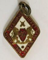 South Melbourne Cricket Club 1957 Member #153 Pin Badge Rare Vintage (A10)