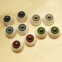 8pcs Eyes Eyeballs Fit For into Mask Skull Halloween Props Party Pack Half Round