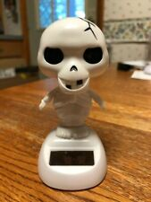 New Solar Powered Dancing Toy Bobble Head DANCING SKELETON