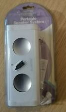 Portable Speaker Case System for iPod, iPod Nano,iPod Mini, or any Audio Player
