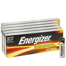 50 x Energizer AA Industrial Alkaline Batteries 1.5V LR6 MN1500 2027 expiry