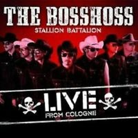 "THE BOSSHOSS ""STALLION BATTALION LIVE"" 2 CD NEU"