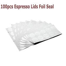 100X Espresso Coperchi Sigillo Per Vuoto Nespresso Capsule usa e getta tazze da caffè