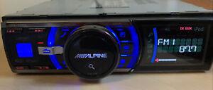 ALPINE iDA-x200 Car Audio Digital Media Receiver Tuner And USB Working Great
