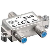 Goobay Vorrang-schalter 1 LNB auf 2 Sat-receiver 151056