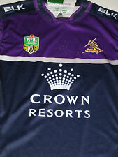 Billy Slater signed Melbourne Storm  official 2015 jersey + Photo proof & COA