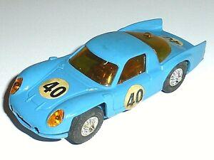 Voiture Circuit JOUEF France ALPINE RENAULT 3000 Le Mans 1/40 VINTAGE Slot Car
