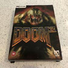 DOOM 3 - SMALL BOX - PC IBM CD ROM GAME