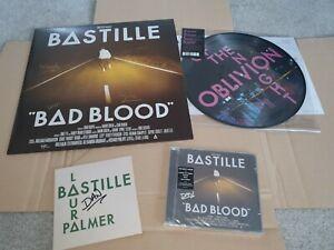 Bastille Bad Blood Signed Bundle