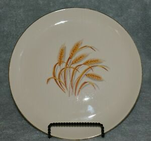 Golden wheat dishes from Duz detergent - 22K gold rim produced by Homer-Laughlin